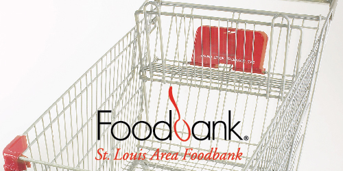 Donate non-perishable food items to the St. Louis Area Foodbank.